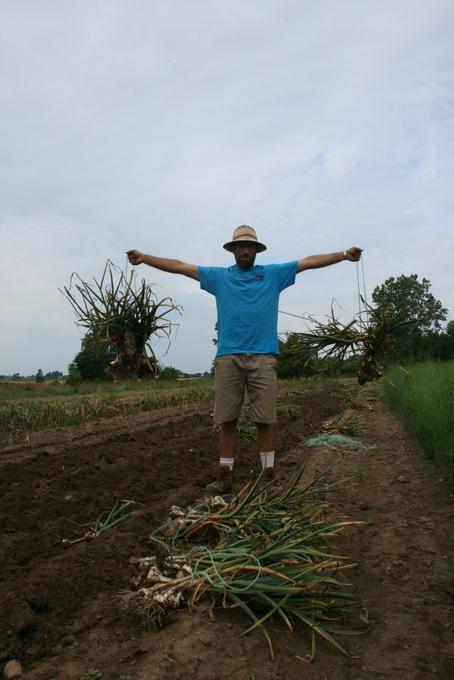 Bill Lifting Garlic Weights