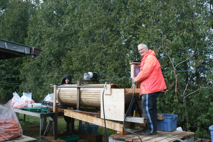 Jim and the New Barrel Washer