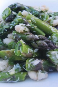 Asparagus White Bean Salad